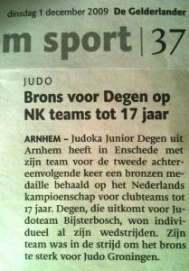 2009 Brons NK -17 teams