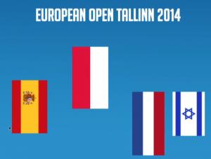Brons European Open Tallinn 2014