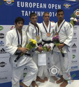 European Open Tallinn 2014 podium