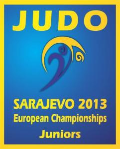 Logo European Championships Juniors 2013 Sarajevo