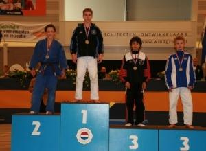 NK aspiranten 2008 - Kampioen tot 46 kg
